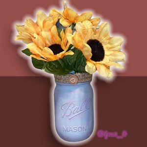 Shabby Chic Decorative Jar Vase New Original